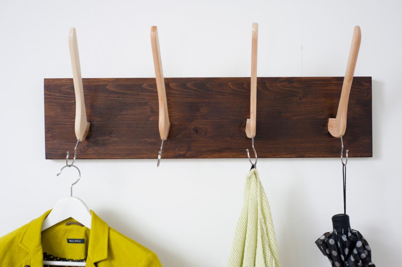 eine diy garderobe f r kreative ikea hacks. Black Bedroom Furniture Sets. Home Design Ideas